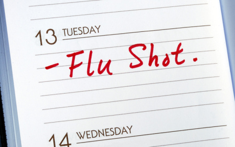 Flu Vaccines available in April